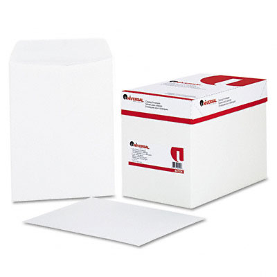 Catalog Envelope, Side Seam, 9 x 12, White, 250/Box