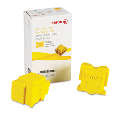 108R00928 Solid Ink Stick, 4,400 Page Yield, Yellow, 2/Pk